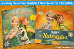 New Disney Books: Frozen Fever Hairstyles and Frozen Fever Party Book - Review + Giveaway (Ends 8/7)  http://couponsavvysarah.blogspot.com/2015/07/new-disney-books-frozen-fever.html