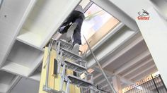 Gorter roof hatches - Electric scissor stairs