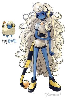 An Artist Drew Pokémon as People and These Definitely Need Their Own Manga Series