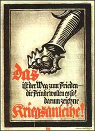 GERMANY: Lucien Bernhard, war bond poster, 1915.