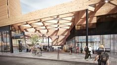 Mecanoo is Helping Commuters Find their Way With Vibrant Plans for Ede Wageningen Train Station | ArchDaily