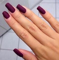 Barry m matt nail paint burgundy crush