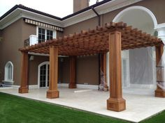 www.projemasif.com Pergola, Outdoor Structures, Kitchen, House, Cooking, Home, Outdoor Pergola, Kitchens, Cuisine