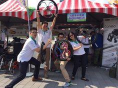 Nova Orthopedic Rehabilitation Appliances Inc. showcasing loopwheels in Taiwan and doing a great job!