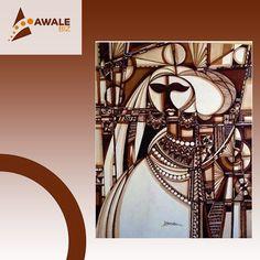 Parlons art ! En exclusivité sur Awalebiz, l'œuvre de l'illustre artiste plasticien Djibathen Sambou,représentant une princesse peulh http://awalebiz.com/fr/art-litterature/princesse-peul/