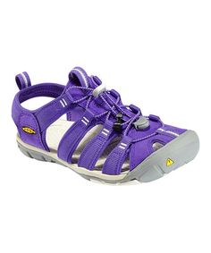 Look at this #zulilyfind! Ultra Violet & Whisper White Clearwater CNX Closed-Toe Sandal by KEEN #zulilyfinds