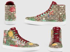 "God Save the Queen and all: Gucci ""Tian"" Sneakers Collection #gucci #sneakers"