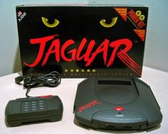 Atari Jaguar - I always wanted to play one of this old school consoles