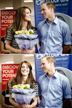 The way William is looking at her is so cute