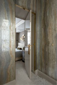 In a perfect world--Master Bathroom slab walls - beautiful palate (Jean Louis Deniot) Interior Exterior, Interior Architecture, Interior Design, Bathroom Inspiration, Interior Inspiration, Jean Louis Deniot, Villa, Wall Treatments, Beautiful Space
