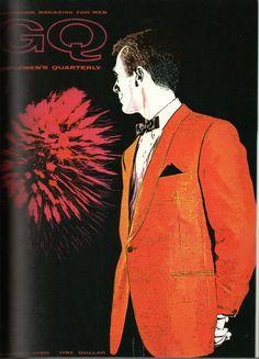 "GQ vintage, ""100 ans de mode masculine"" Cally Blackman"
