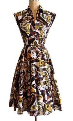 Trashy Diva Circle Day Dress in Butterflies- or anything in this print