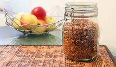 Házi cukormentes granola Kefir, Naan, Granola, Breakfast Ideas, Yogurt, Morning Tea Ideas, Muesli