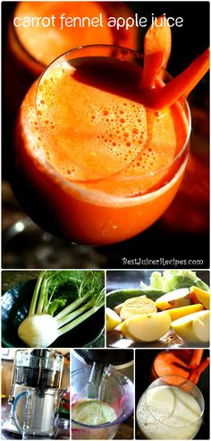 Carrot Fennel Juice Recipe #bestjuicerrecipes via http://www.bestjuicerrecipes.com/carrot-fennel-juice-recipe/