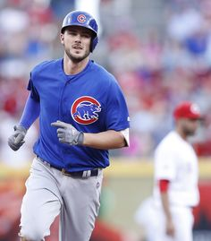 Kris Bryant. Chicago Cubs. 3 Home Runs. 2 Doubles in a game.