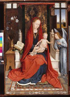 Memling, thronende Maria mit dem Kind