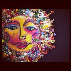 Fantastic Bead Mosaics SUNface by Joselyn S Walsh