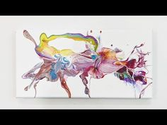 Acrylic Pouring Art, Create Words, Color Blending, Art Lessons, Home Art, Arts And Crafts, Drawings, Acrylics, Big