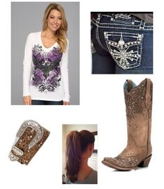 Cute! Maybe Someday, Cowgirl Outfits, Birdhouse, Outfit Ideas, My Style, Polyvore, Cute, Fashion, Moda