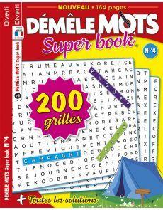 Démêle Mots Super Book 04 - Toutes les solutions incluses