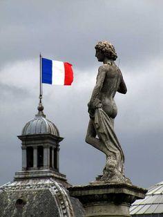 """David vainqueur de Goliath"" (David Winner of Goliath)  ~ Jardin du Luxembourg"
