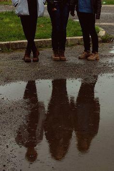 the rain, great siblings photo.