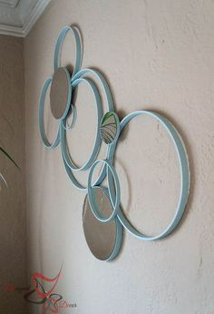 wall art embroidery hoops repurpose, crafts, home decor, wall decor