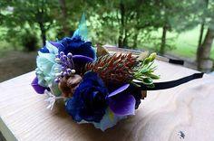 Martinuska / Fialová jeseň Handmade Headbands, Colours, Vegetables, Vegetable Recipes, Veggies