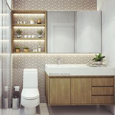 The sleek, angular lines of this WC gives it a striking look that will enhance any modern bathroom. Oak Bathroom, Bathroom Toilets, Bathroom Furniture, Modern Bathroom, Washroom, Bad Inspiration, Bathroom Inspiration, Bathroom Design Small, Bathroom Interior Design