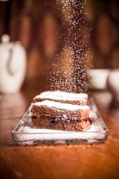 Elisabeths Schokoladeschnitten Winter Marmelade, Tiramisu, Ethnic Recipes, Desserts, Muffins, Food, Bakken, Ancient Recipes, Chocolate