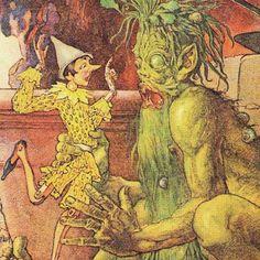Abbracci e pop corn: Le immagini di Pinocchio (1)