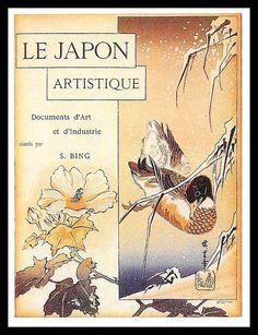 Magazine cover 1888-from Art Nouveau by Stephen Escritt