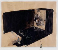 michael borremans  graphite, gouache