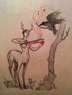 Chiara Bautista: Drawing with Stardust • Beautiful Bizarre Magazine