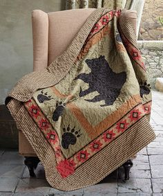 1000 Images About Quilts Cabin On Pinterest Moose Quilt