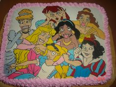 So, I want this cake for my birthday!