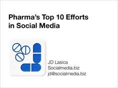 Pharma's Top 10 Efforts in Social Media