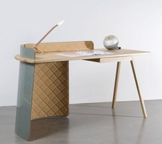The minimalist Big Boss Desk by Piergil Fourquie