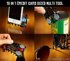 18 in 1 credit card sized multi tool