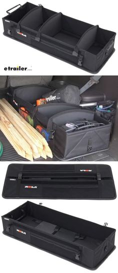 Hopkins collapsible vehicle trunk cargo organizer with mesh bins keep your eggs milk and other loose items in your car truck or suv from rolling around this vehicle organizer can adjust to fit your items and collapses solutioingenieria Choice Image