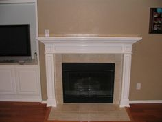 1000 ideas about fireplace mantel kits on pinterest
