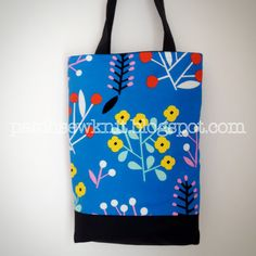 Patch, Sew and Knit!: A Reversible Bag with Marimekko Akankaali