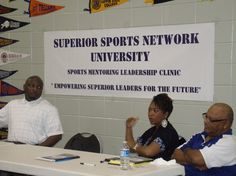The Superior Sports Network Advisory Board prepares to make nominations at the SSNU (NFL/NBA D-Clinic) 2013