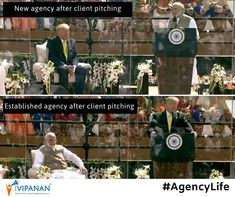 Farak to padta hi hai Mr.Client!  #agencylife #NamasteTrump