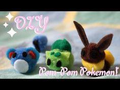 "❤ DIY Pom-Pom Pokemon! How To Make ""Pompokemon"" For Easter!  ❤ - YouTube"