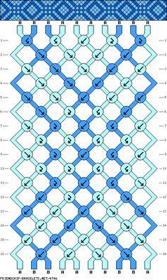 10 strings 16 rows 2 colors