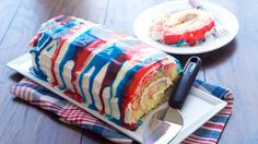 The classic cake roll meets red, white and blue tie-dye frosting in this surprisingly simple recipe. A handful of basic ingredients is all you need to make this patriotic wonder!