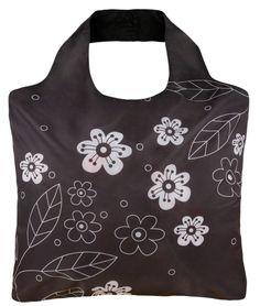 Black and White 2 original reusable bag by ECOZZ #ecozz $8.95