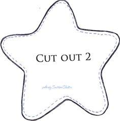 Star softie pattern