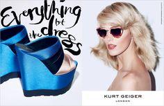 KURT GEIGER S/S 2013 ADVERTISING